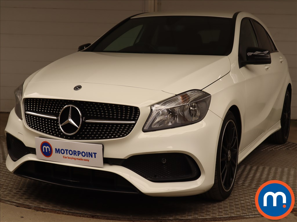 Mercedes-Benz A Class A200 AMG Line 5dr Auto - Stock Number 1217561 Passenger side front corner