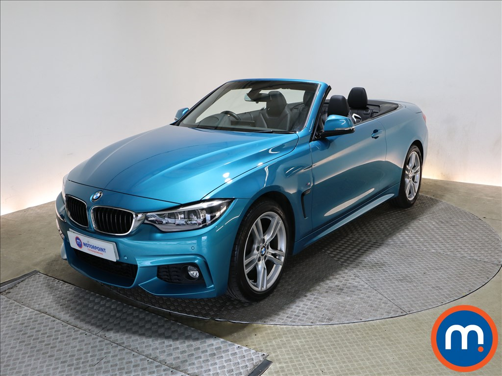 BMW 4 Series 420i M Sport 2dr Auto [Professional Media] - Stock Number 1217941 Passenger side front corner