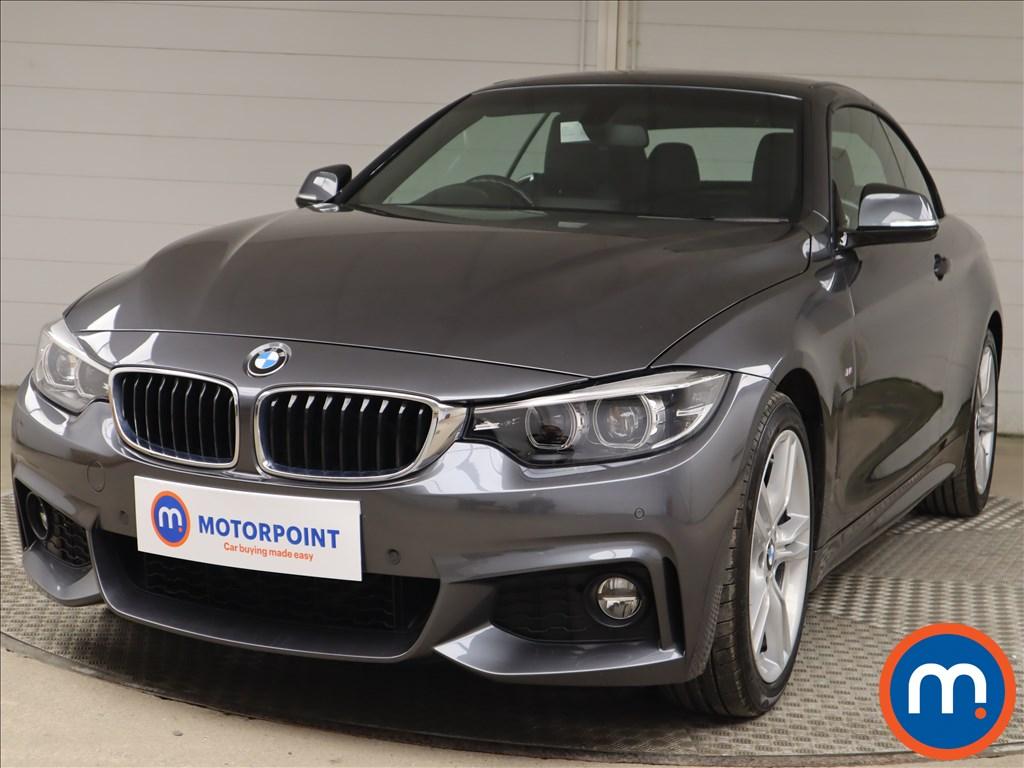 BMW 4 Series 420i M Sport 2dr Auto [Professional Media] - Stock Number 1218533 Passenger side front corner