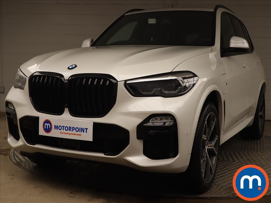 BMW X5 xDrive45e M Sport 5dr Auto [Tech-Pro Pk] - Stock Number 1216149 Passenger side front corner