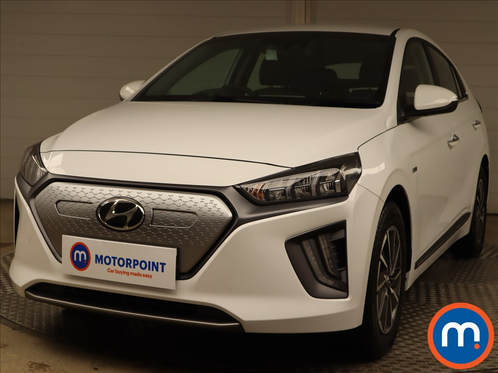 Hyundai Ioniq 100kW Premium 38kWh 5dr Auto - Stock Number 1215438 Passenger side front corner