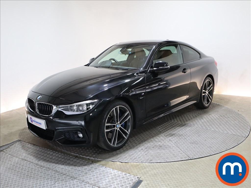 BMW 4 Series 430d M Sport 2dr Auto [Professional Media] - Stock Number 1212627 Passenger side front corner