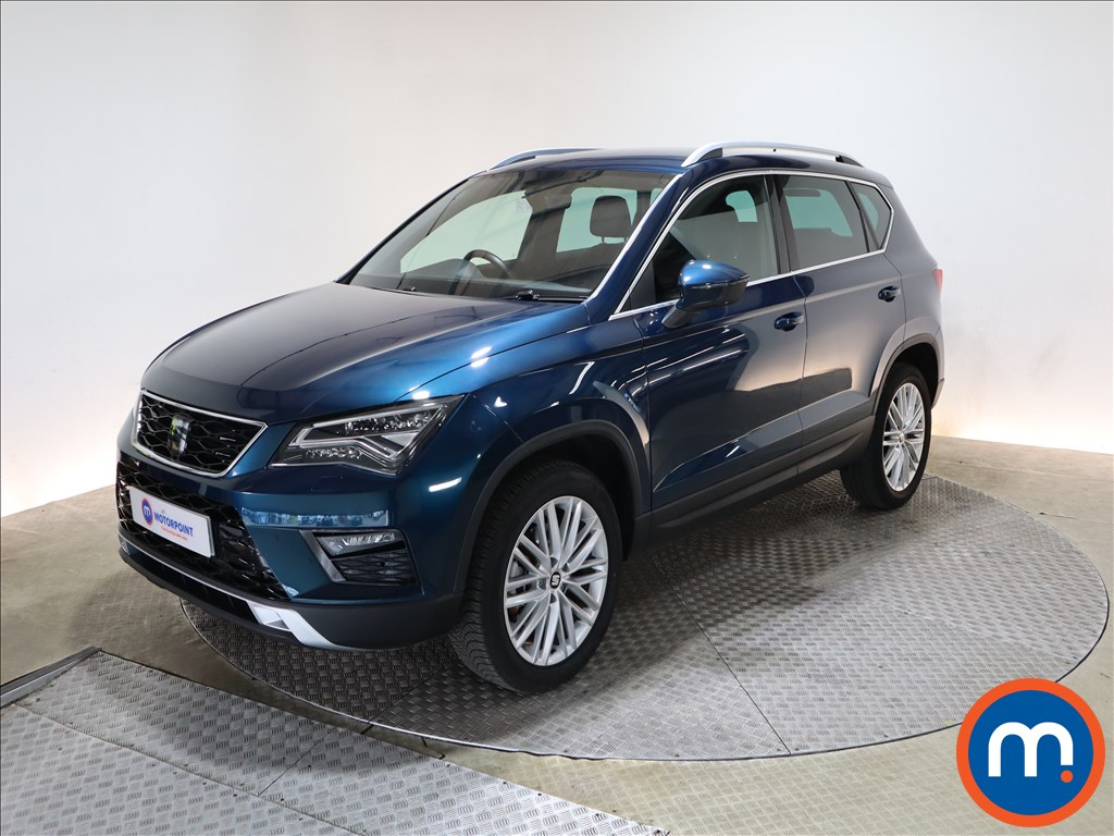Seat Ateca 2.0 TDI Xcellence 5dr 4Drive - Stock Number 1217934 Passenger side front corner