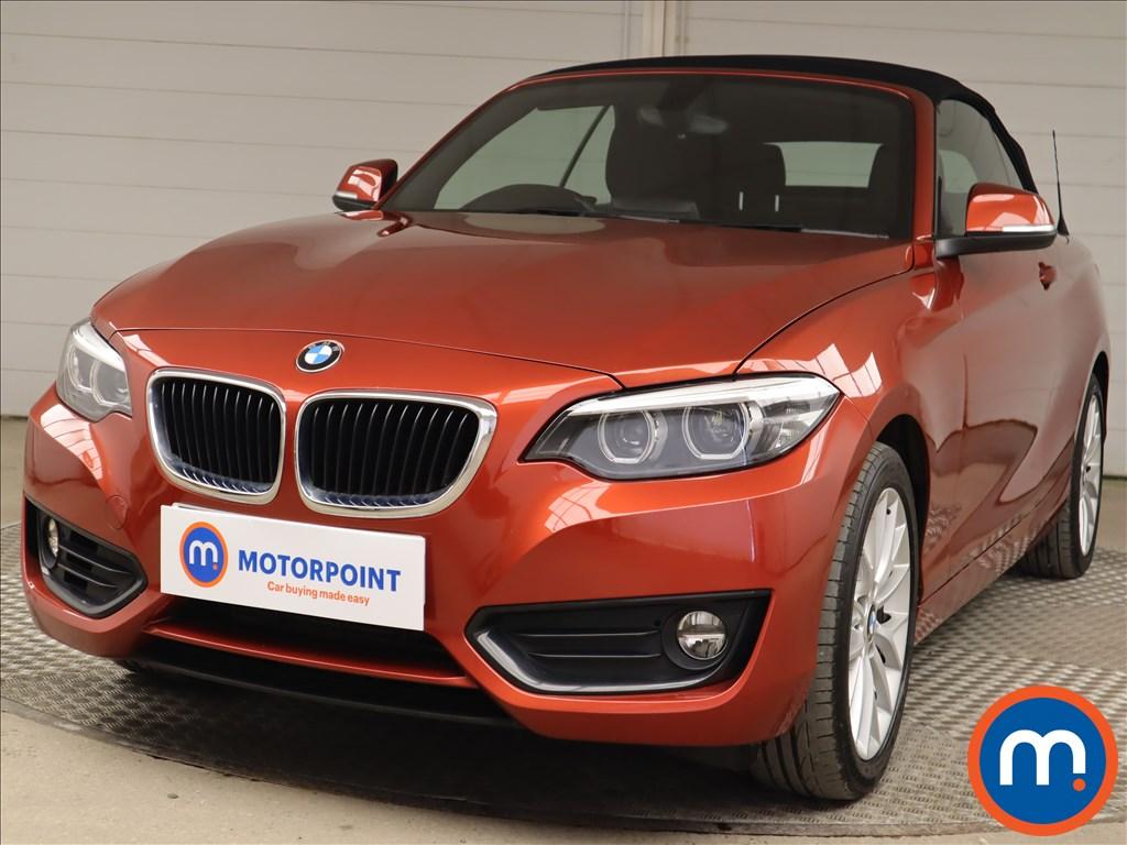 BMW 2 Series 218i SE 2dr [Nav] - Stock Number 1216037 Passenger side front corner