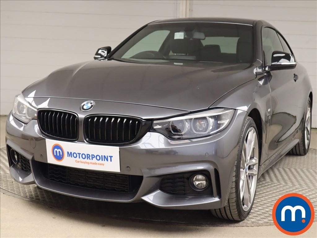 BMW 4 Series 420d [190] M Sport 2dr Auto [Professional Media] - Stock Number 1219311 Passenger side front corner