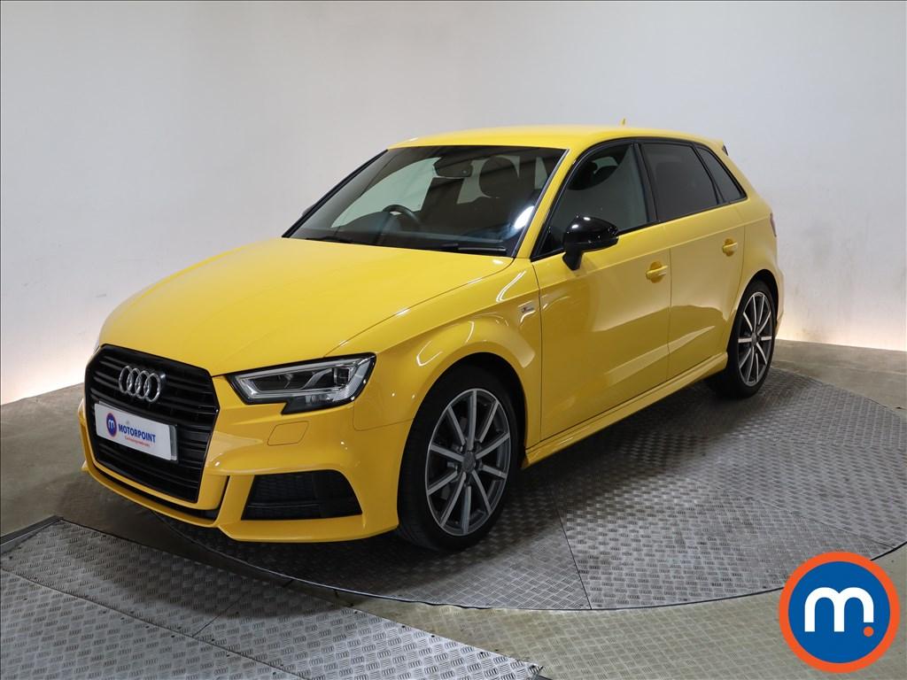 Audi A3 1.6 TDI 116 Black Edition 5dr - Stock Number 1209463 Passenger side front corner