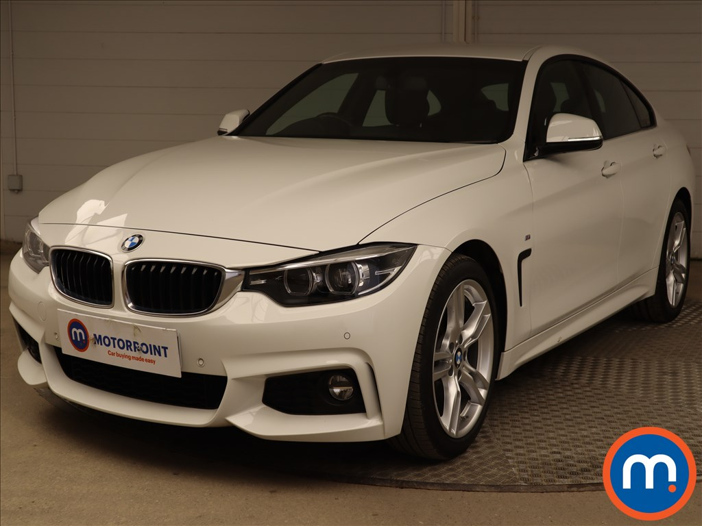 BMW 4 Series 420i M Sport 5dr Auto [Professional Media] - Stock Number 1218242 Passenger side front corner