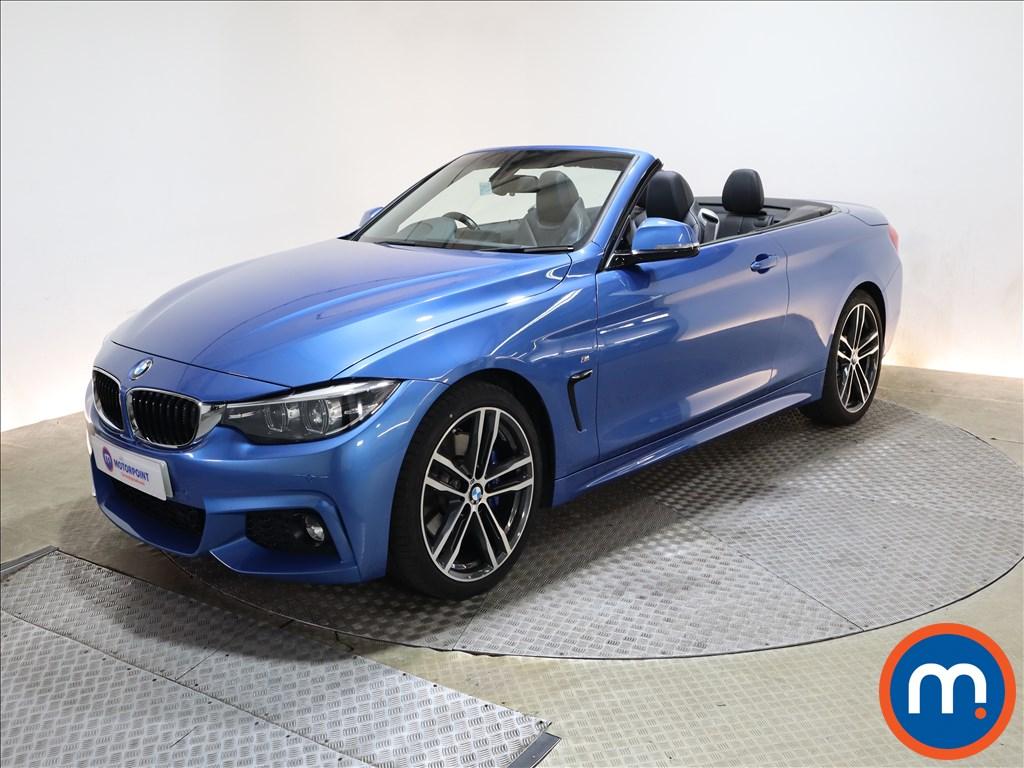 BMW 4 Series 420d [190] M Sport 2dr Auto [Professional Media] - Stock Number 1220309 Passenger side front corner