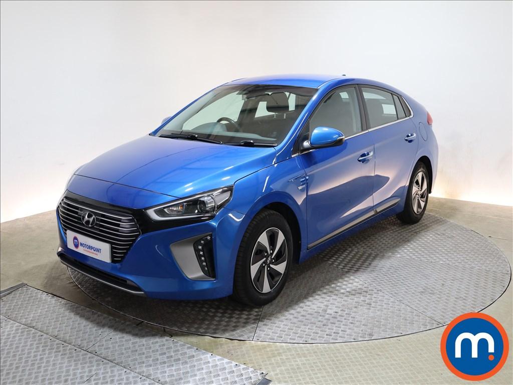 Hyundai Ioniq 1.6 GDi Hybrid Premium 5dr DCT - Stock Number 1199680 Passenger side front corner