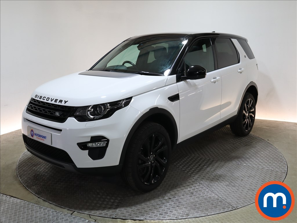Land Rover Discovery Sport 2.0 TD4 180 HSE Black 5dr Auto - Stock Number 1217928 Passenger side front corner