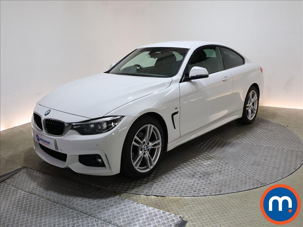 BMW 4 Series 420i M Sport 2dr Auto [Professional Media] - Stock Number 1217933 Passenger side front corner