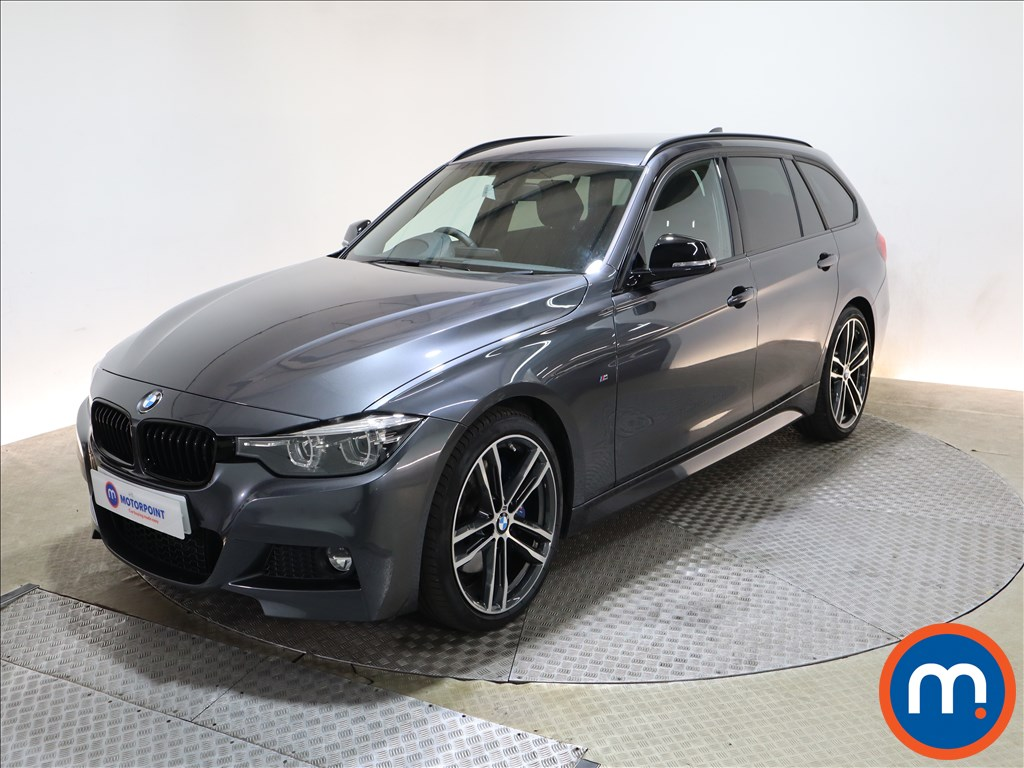 BMW 3 Series 320i M Sport Shadow Edition 5dr Step Auto - Stock Number 1212765 Passenger side front corner