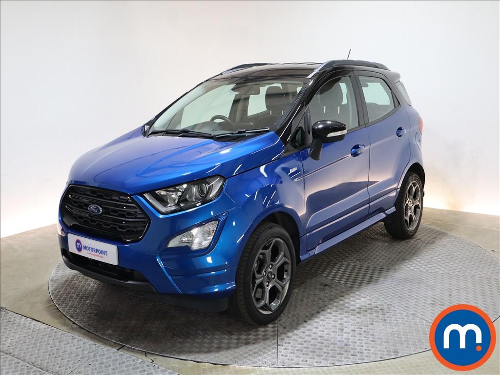 Ford Ecosport 1.0 EcoBoost 125 ST-Line 5dr - Stock Number 1218125 Passenger side front corner