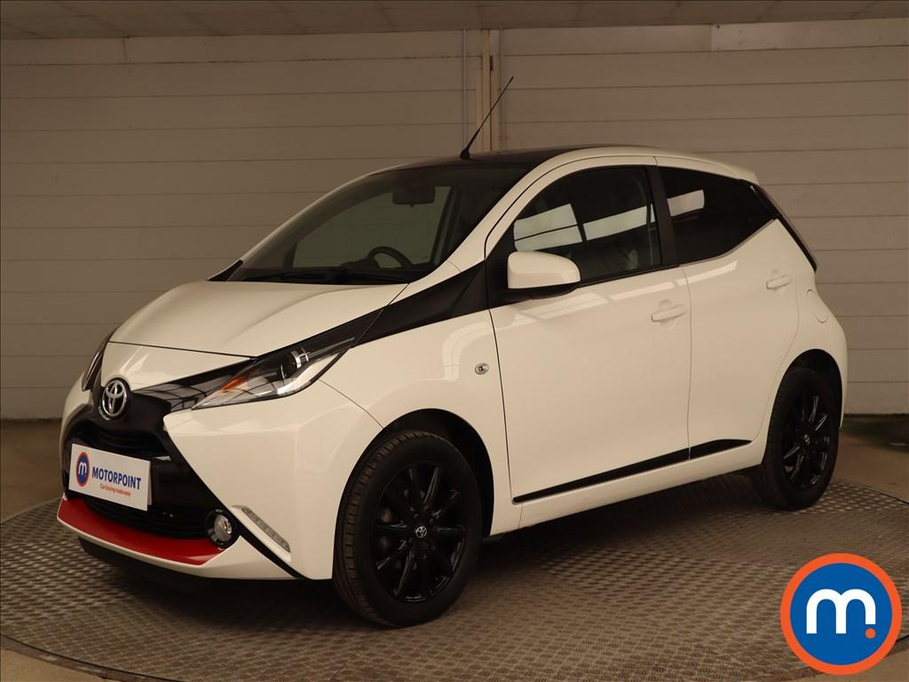 Toyota Aygo 1.0 VVT-i X-Press 5dr - Stock Number 1218944 Passenger side front corner