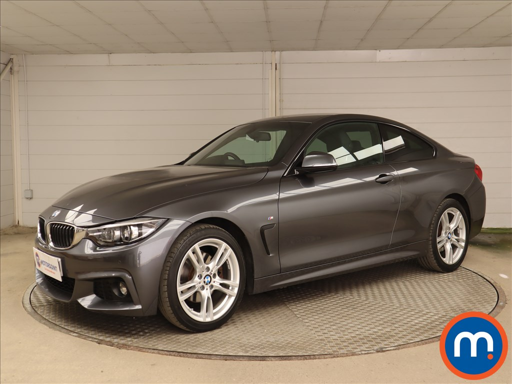 BMW 4 Series 420d [190] M Sport 2dr Auto [Professional Media] - Stock Number 1219320 Passenger side front corner