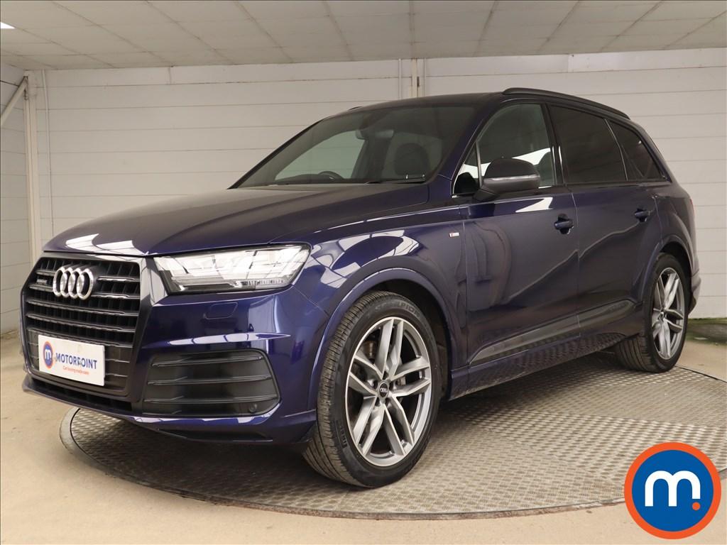 Audi Q7 3.0 TDI Quattro Black Edition 5dr Tip Auto - Stock Number 1219796 Passenger side front corner