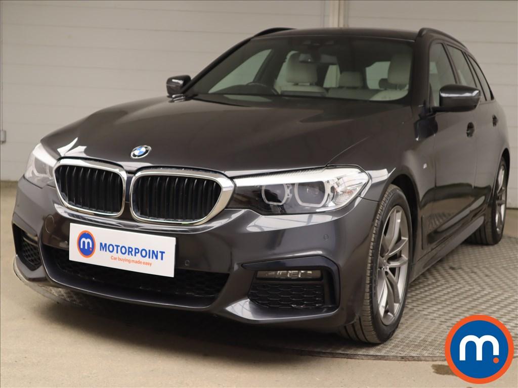BMW 5 Series 520d xDrive M Sport 5dr Auto - Stock Number 1217888 Passenger side front corner