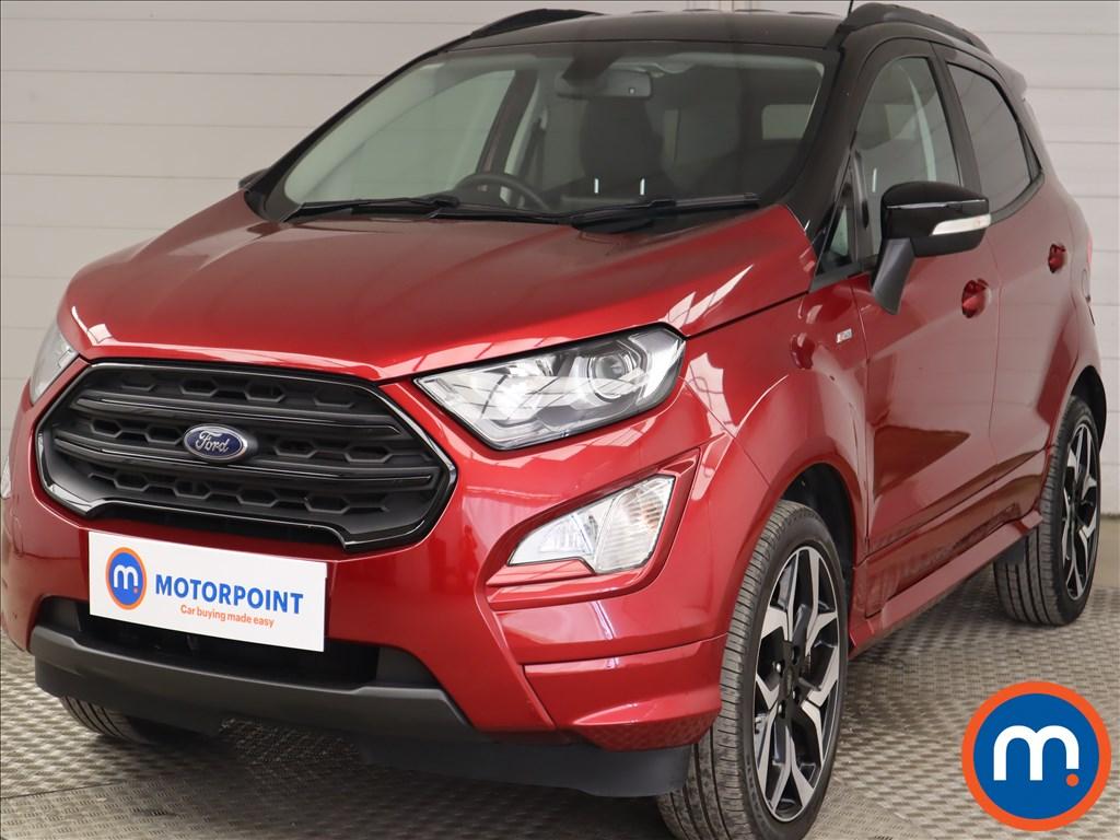 Ford Ecosport 1.0 EcoBoost 125 ST-Line 5dr - Stock Number 1218931 Passenger side front corner
