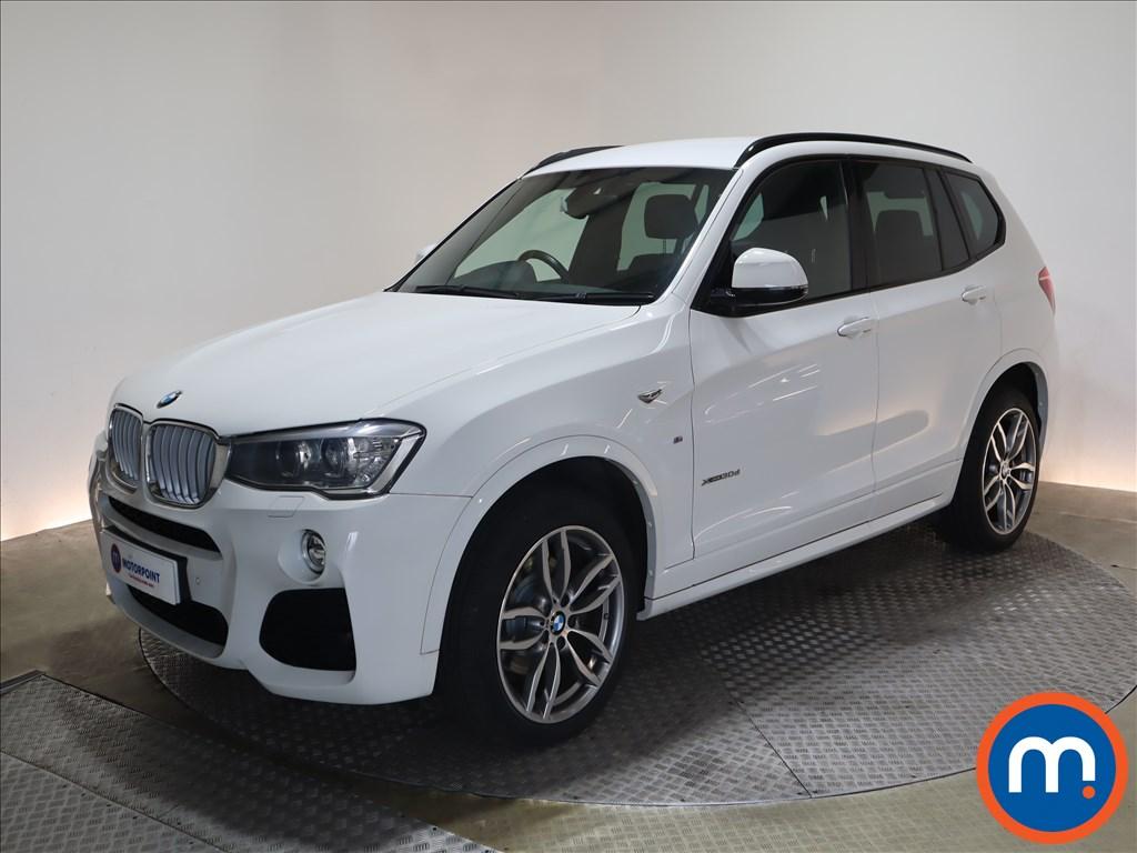 BMW X3 xDrive30d M Sport 5dr Step Auto - Stock Number 1212805 Passenger side front corner