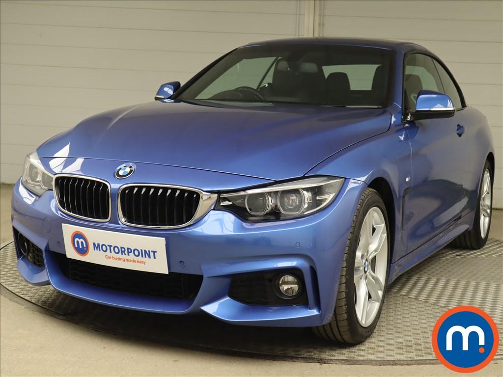 BMW 4 Series 420i M Sport 2dr Auto [Professional Media] - Stock Number 1221823 Passenger side front corner