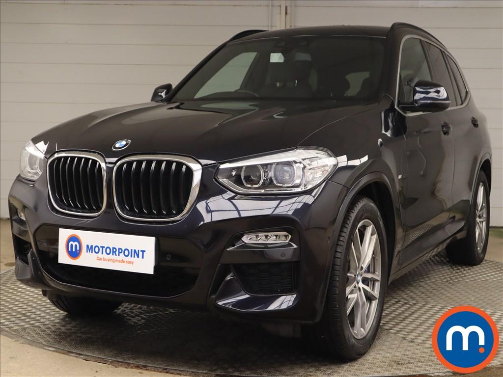 BMW X3 xDrive30d M Sport 5dr Step Auto - Stock Number 1221587 Passenger side front corner