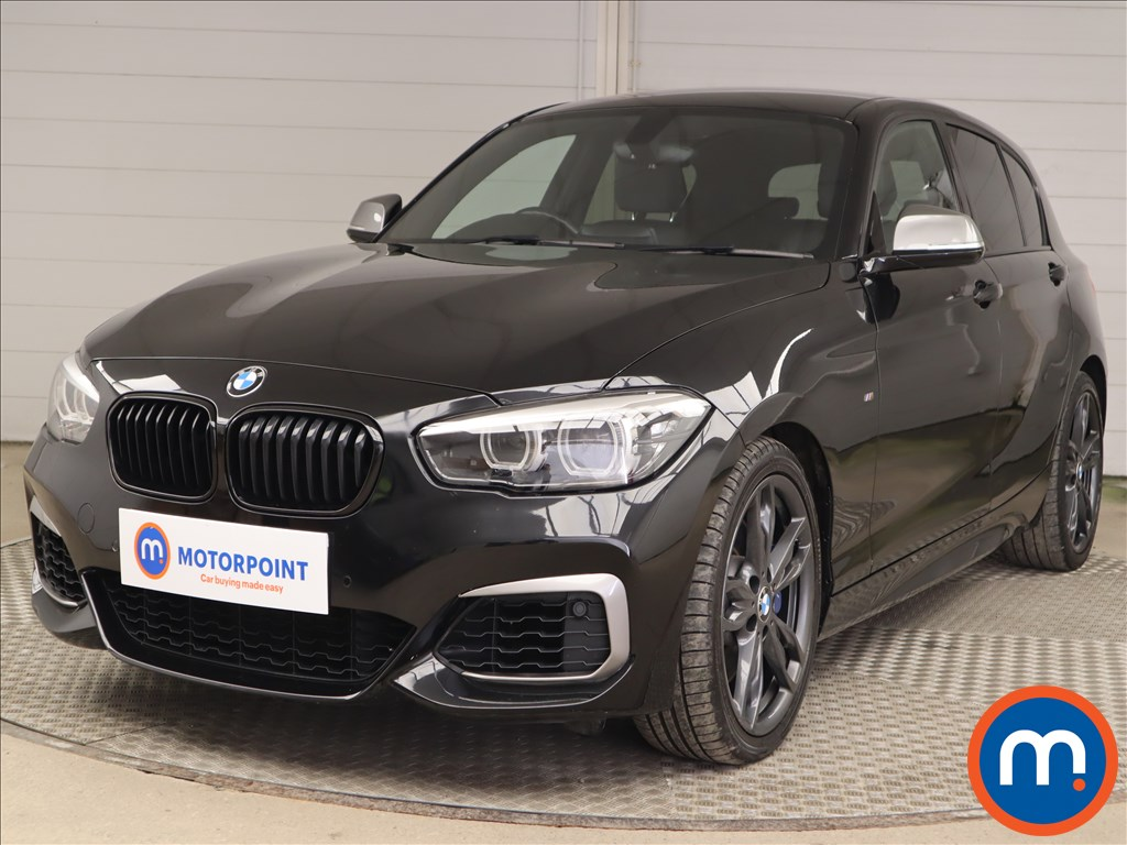 BMW 1 Series M140i Shadow Edition 5dr Step Auto - Stock Number 1218956 Passenger side front corner