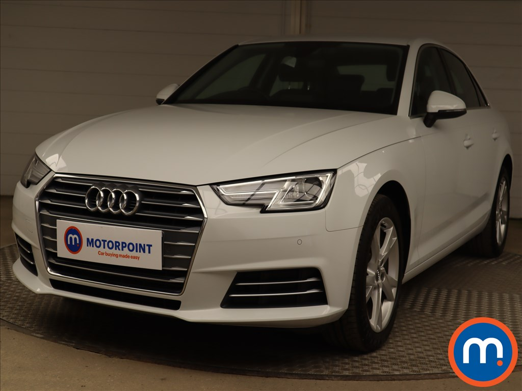 Audi A4 2.0T FSI Sport 4dr S Tronic [Leather] - Stock Number 1219893 Passenger side front corner