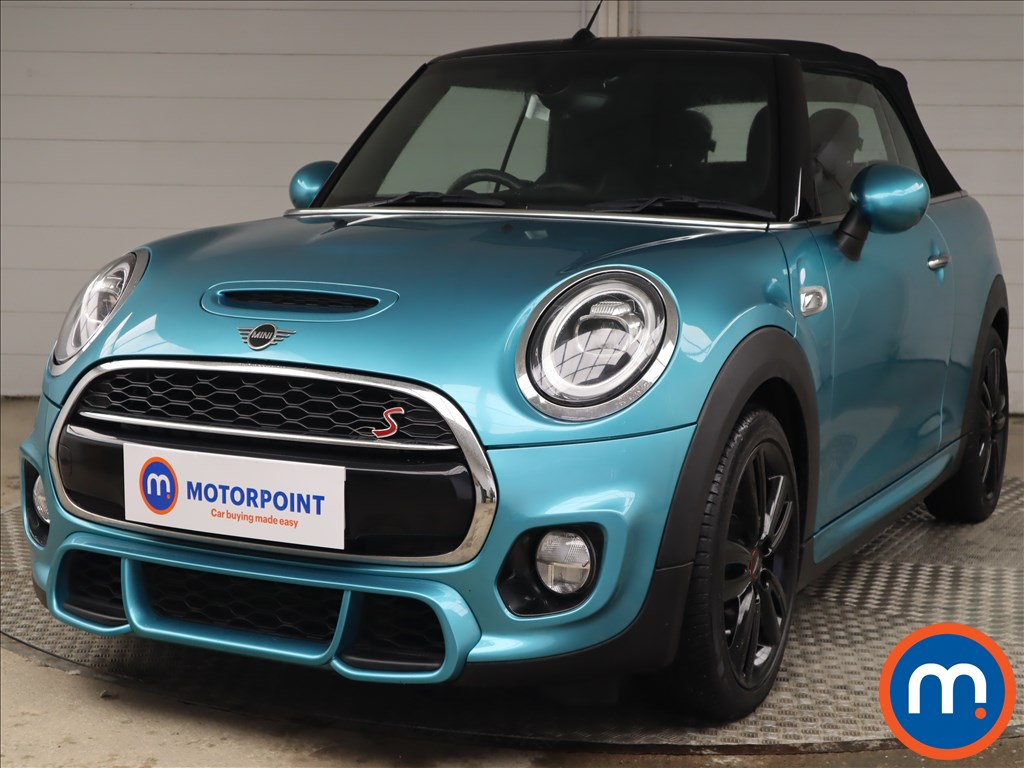 Mini Convertible 2.0 Cooper S II 2dr Auto [JCW Chili Pack] - Stock Number 1222502 Passenger side front corner