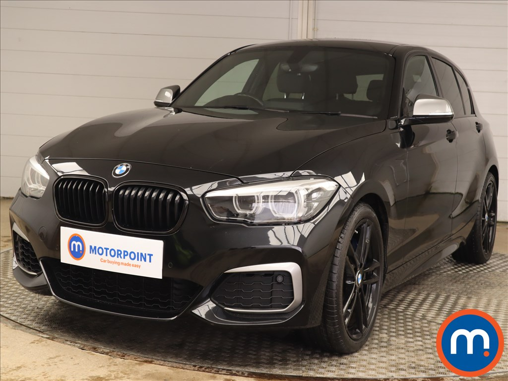 BMW 1 Series M140i Shadow Edition 5dr Step Auto - Stock Number 1219360 Passenger side front corner