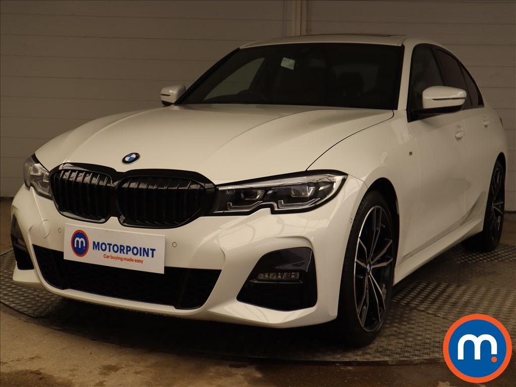 BMW 3 Series 320d xDrive M Sport 4dr Step Auto [Tech-Plus Pack] - Stock Number 1224387 Passenger side front corner