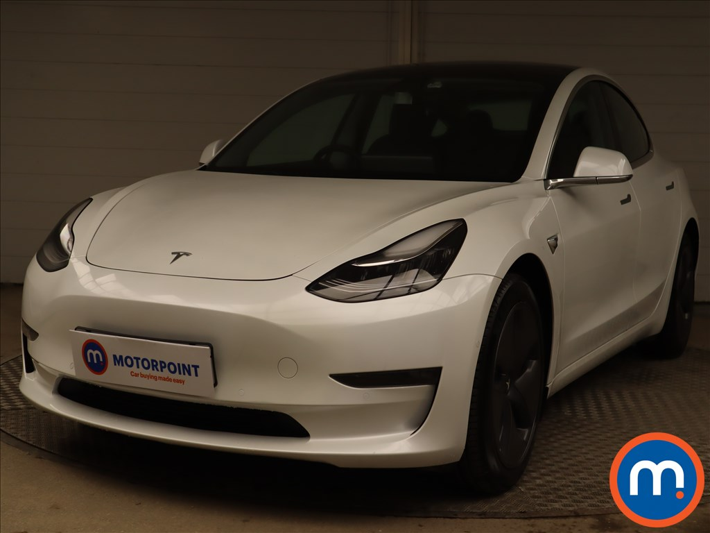 Tesla Model 3 Long Range AWD 4dr Auto - Stock Number 1221590 Passenger side front corner