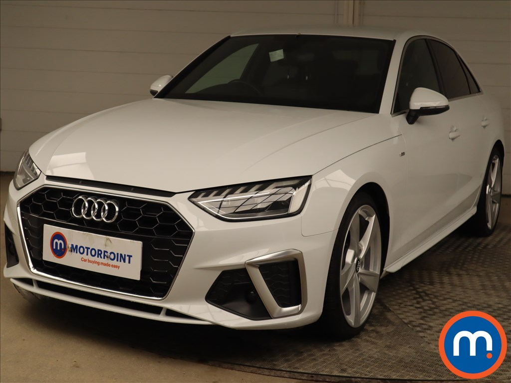 Audi A4 35 TFSI S Line 4dr S Tronic - Stock Number 1223696 Passenger side front corner