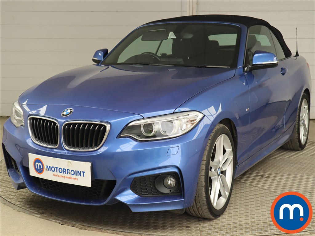BMW 2 Series 218i M Sport 2dr [Nav] - Stock Number 1219995 Passenger side front corner