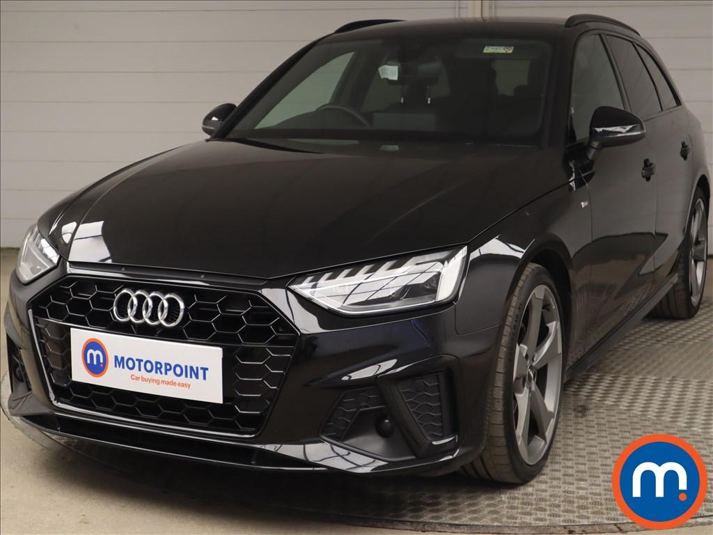 Audi A4 35 TDI Black Edition 5dr S Tronic - Stock Number 1223700 Passenger side front corner