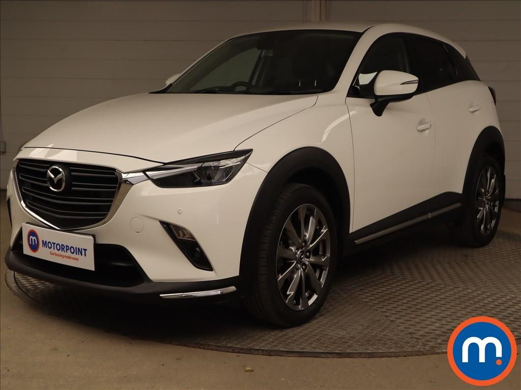 Mazda Cx-3 2.0 150 Sport Nav -Plus 5dr AWD - Stock Number 1223548 Passenger side front corner