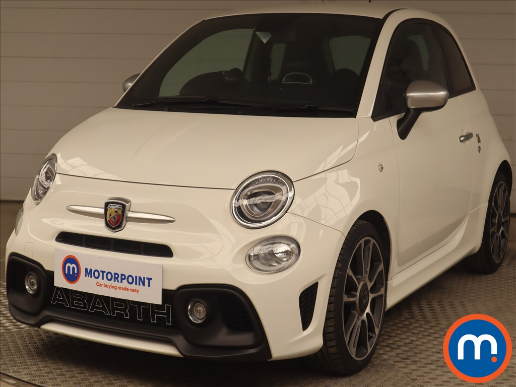 Abarth 595 1.4 T-Jet 165 Turismo 70th Anniversary 3dr - Stock Number 1221068 Passenger side front corner