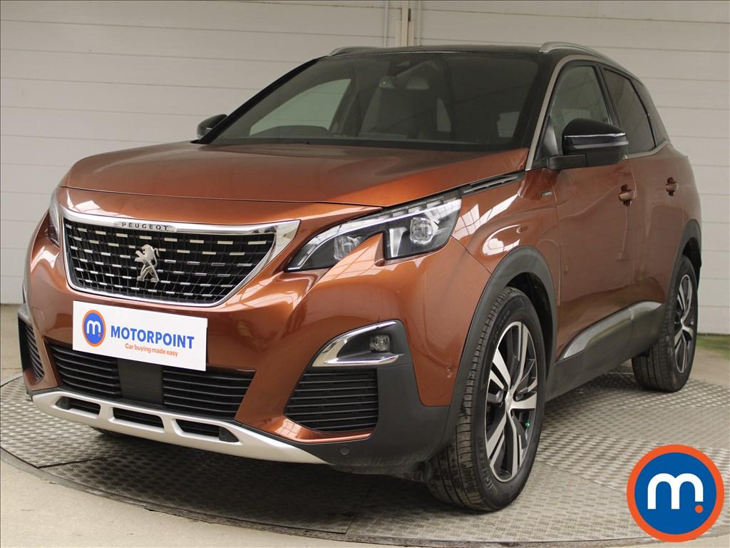 Peugeot 3008 1.5 BlueHDi GT Line 5dr - Stock Number 1221794 Passenger side front corner