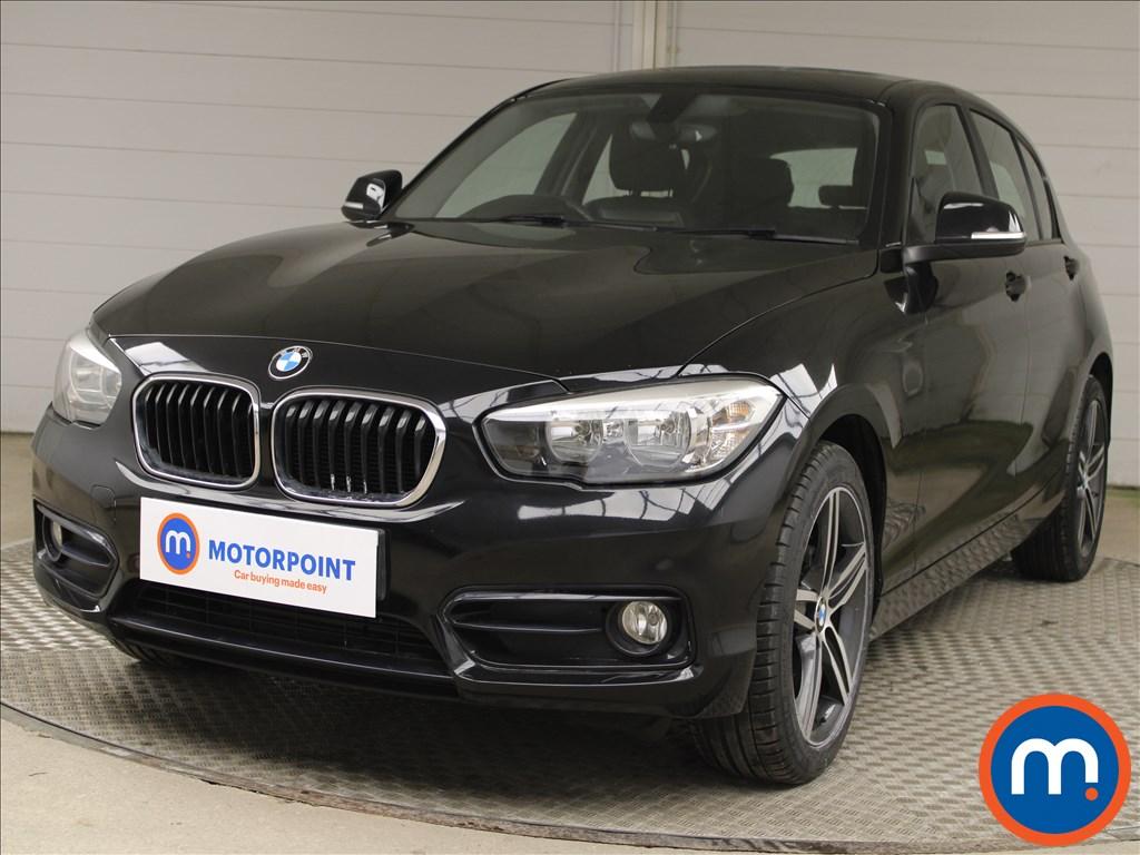 BMW 1 Series 116d Sport 5dr [Nav] - Stock Number 1222898 Passenger side front corner