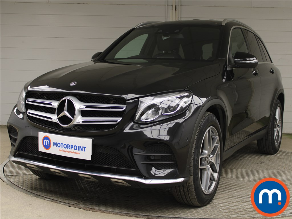 Mercedes-Benz GLC GLC 220d 4Matic AMG Line 5dr 9G-Tronic - Stock Number 1224831 Passenger side front corner
