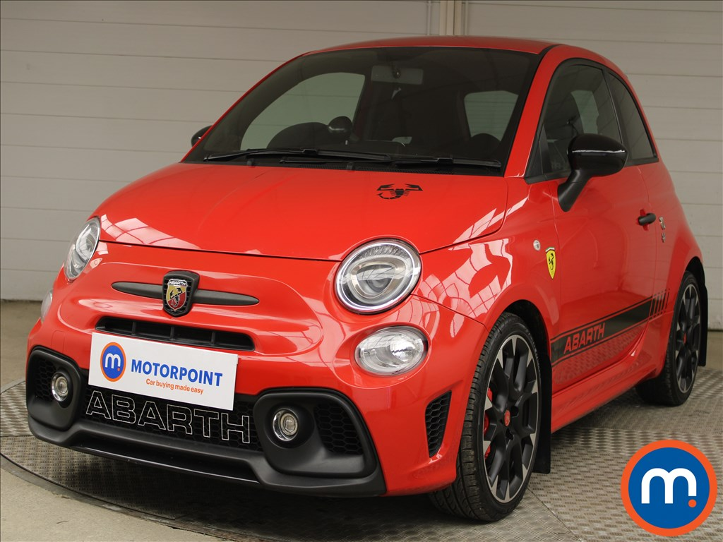 Abarth 595 1.4 T-Jet 180 Competizione 3dr - Stock Number 1224423 Passenger side front corner