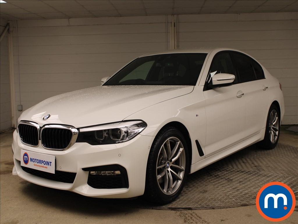 BMW 5 Series 520d M Sport 4dr Auto - Stock Number 1224960 Passenger side front corner