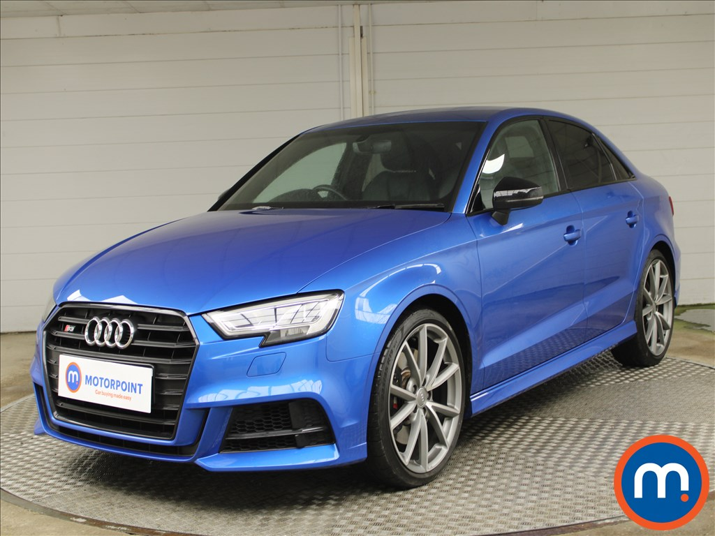 Audi A3 S3 TFSI Quattro Black Edition 4dr S Tronic - Stock Number 1228016 Passenger side front corner