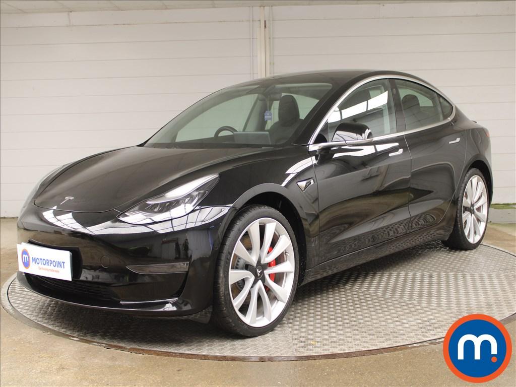 Tesla Model 3 Performance AWD 4dr [Performance Upgrade] Auto - Stock Number 1228570 Passenger side front corner