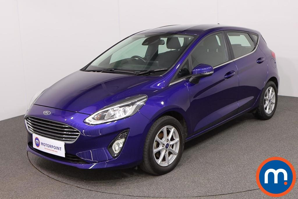 Ford Fiesta Zetec - Stock Number 1125267 Passenger side front corner