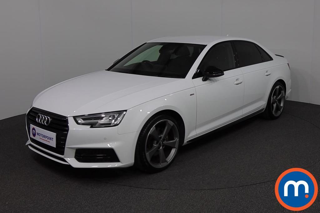 Audi A4 Black Edition - Stock Number 1135720 Passenger side front corner