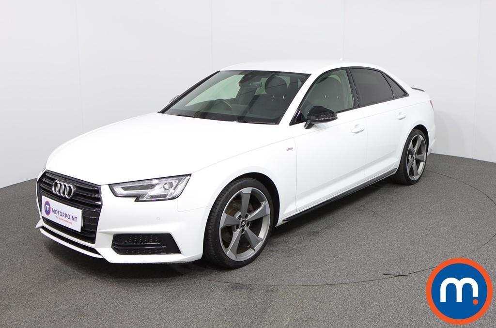 Audi A4 Black Edition - Stock Number 1129338 Passenger side front corner