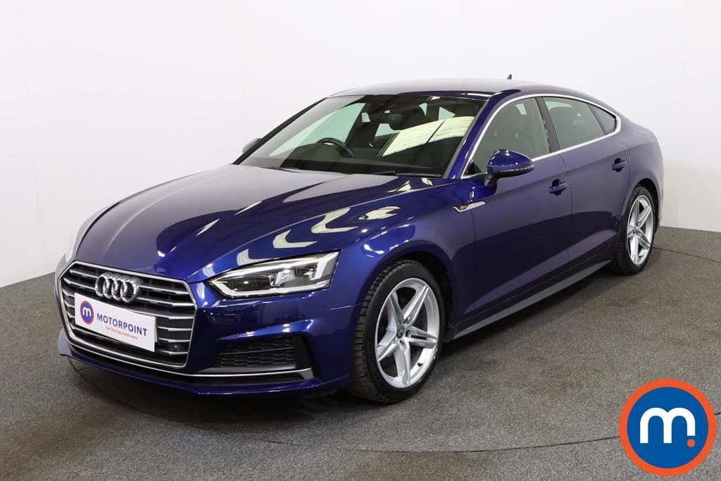 Audi A5 S Line - Stock Number 1134365 Passenger side front corner