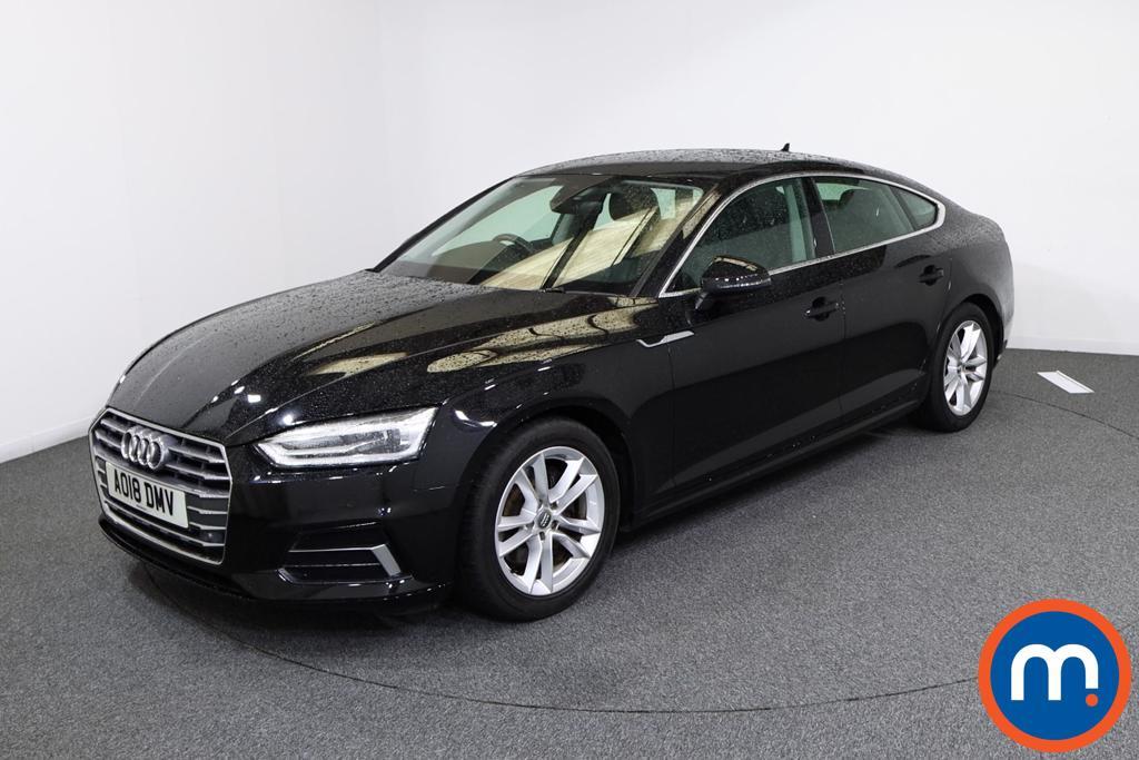 Audi A5 Sport - Stock Number 1136713 Passenger side front corner