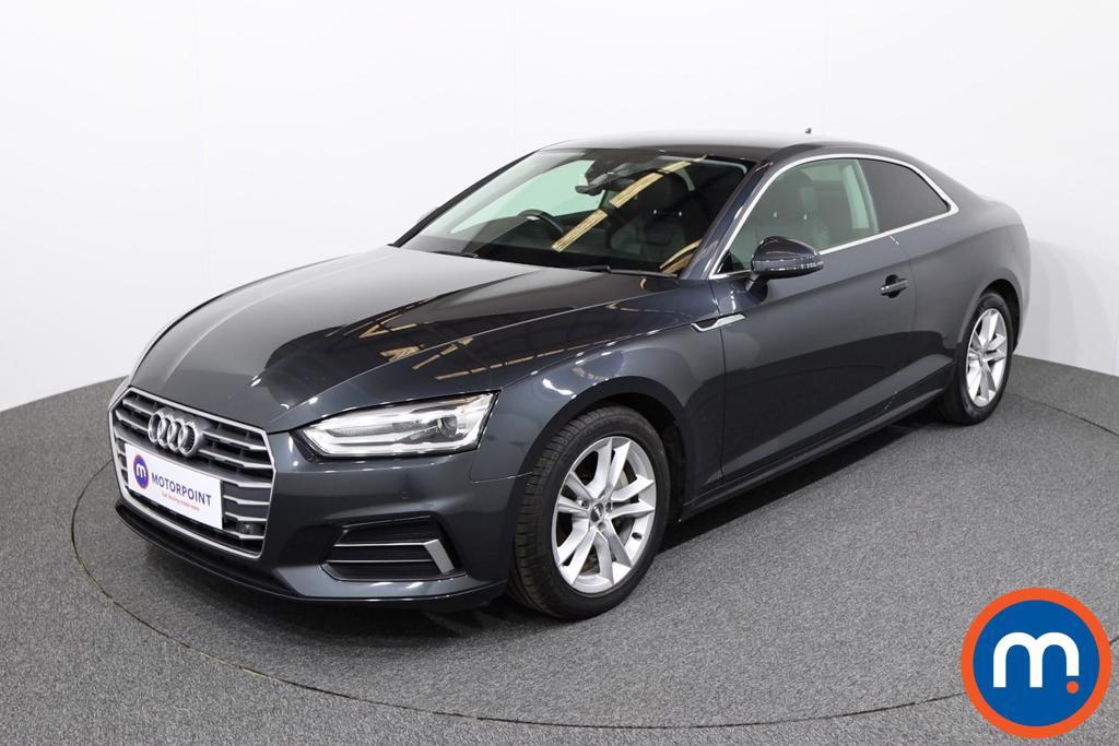 Audi A5 Sport - Stock Number 1129733 Passenger side front corner