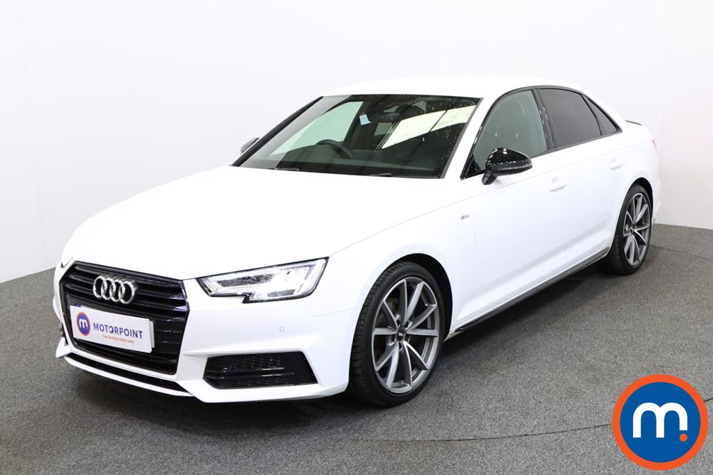 Audi A4 Black Edition - Stock Number 1131522 Passenger side front corner